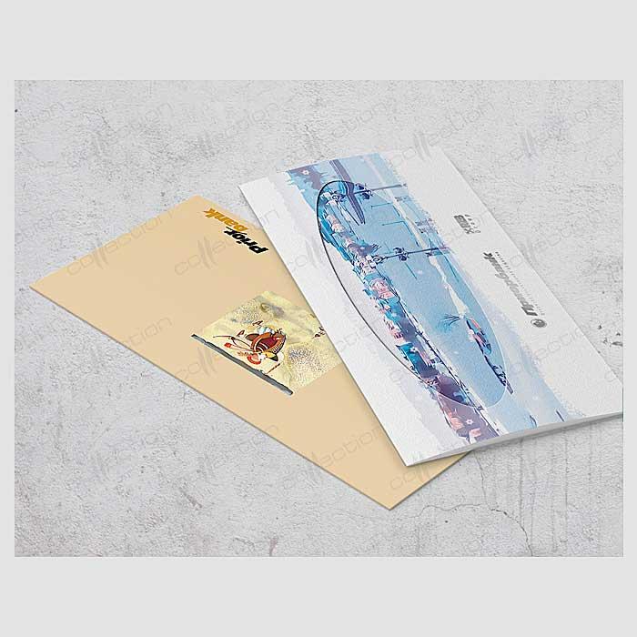 Поздравительная открытка фирменный стиль