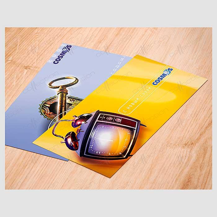 Примеры рекламных открыток
